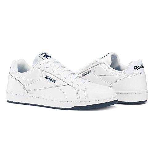 Reebok Men's Royal Cmplt CLN Lx Fitness Shoes White (White / Collegiate Navy) low shipping fee sale online cheap price wholesale AG3OjC