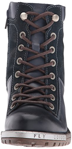Oil Rug London Combat Women's Leal689fly Ocean Boot Suede FLY Blue dzCq0xOqw