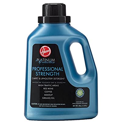 Hoover Platinum Collection Professional Strength Carpet & Upholstery Detergent