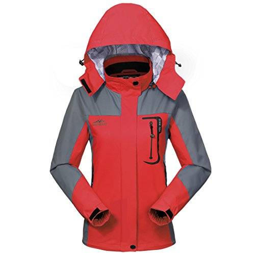Waterproof Jacket Raincoat Women Sportswear-GIVBRO 2017 New Design Outdoor Hooded Softshell Camping Hiking Mountaineer Travel Jackets