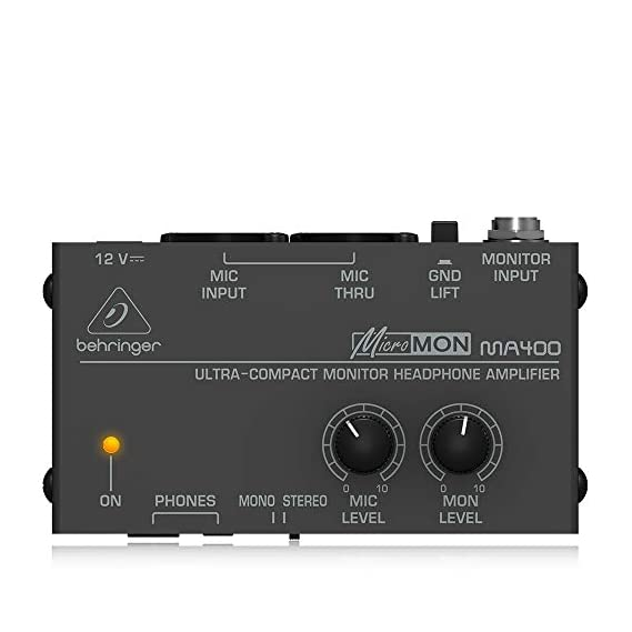 Behringer HA8000 V2 8-Channel High-Power Headphones Mixing and Distribution Amplifier