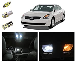 Amazon.com: 07-12 Nissan Altima LED Package Interior + Tag + Reverse ...