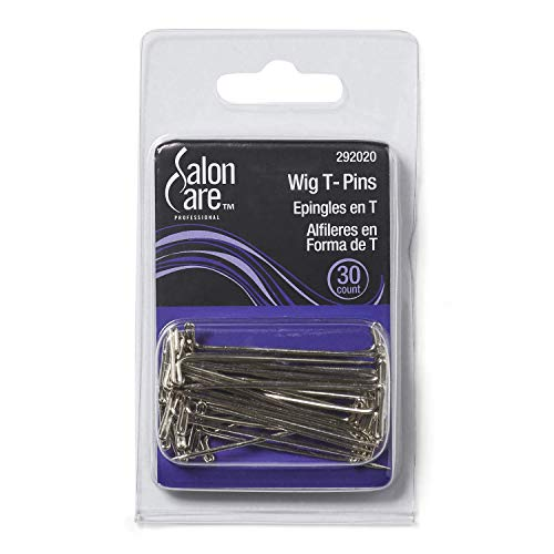 Salon Care Steel Wig T Pins