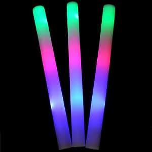 LED de colores que anima que destella del resplandor del palillo de la espuma para la fiesta de Concierto