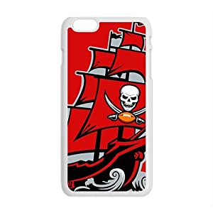 WFUNNY tampa bay buccaneers logo New Cellphone Case for iPhone 6 Plus
