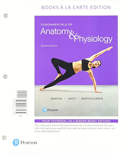 Fundamentals of Anatomy & Physiology, Books a la Carte Edition; Modified Mastering A&P with Pearson eText -- ValuePack Access Card -- for Fundamentals of Anatomy & Physiology (11th Edition)
