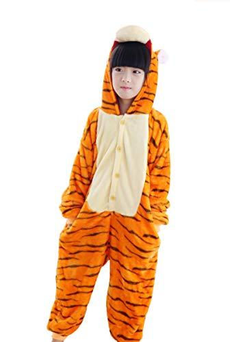Tonwhar Costumes for Children Kids Cuddly Onesie Pajamas (120(Height:45.27