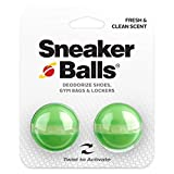Sof Sole Sneaker Balls Shoe, Gym Bag, and Locker Deodorizer, 1 Pair, Ice, colors may vary