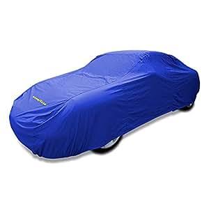Goodyear Cubierta de coche de alta calidad - Protección impermeable para interiores / exteriores - Pequeña – Azul