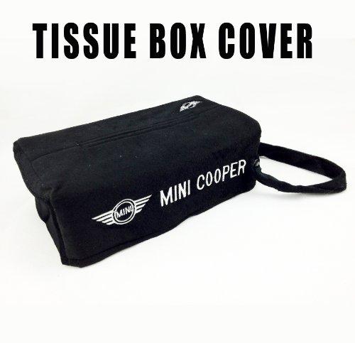 Mini Cooper Embroidered Logo Tissue Box - Santana Mall