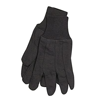 Trimaco Llc 1403 100% Cotton Jersey Gloves, Brown, One Size Fits Most