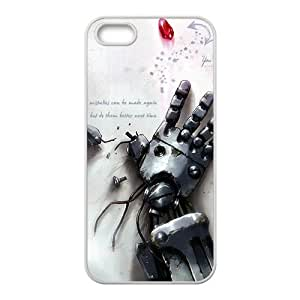 HWGL Broken robot hand Cell Phone Case for Iphone 5s