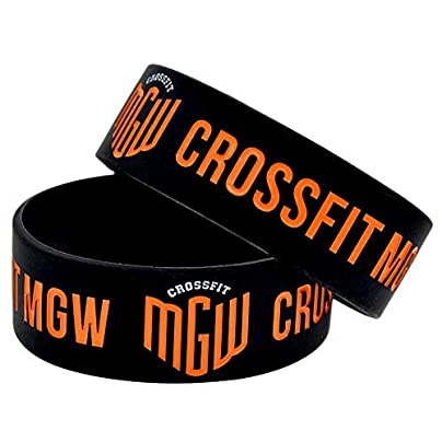 Sxuefang Silicone Bracelets With Sayings Crossfit Mgw Rubber Wristbands For Men Encouragement Set Pieces Estimated Price £29.99 -