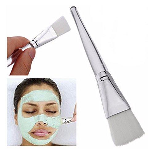 Gesichtsmaske Pinsel, LuckyFine Profi Gesichtsmaske Pinsel Beauty Mask Pinsel transparenten Griff weichen Bürste