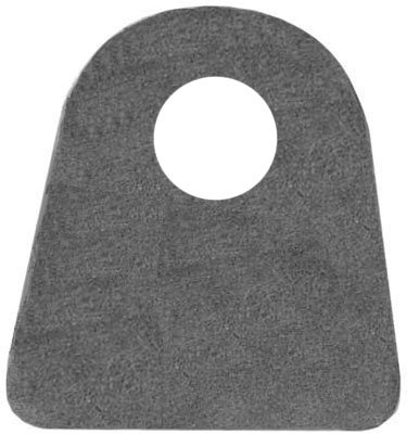 20 - SOUTHWEST SPEED UNIVERSAL ROUND WELD-ON TABS, 3/16' THICK, 1/2' I.D. CENTERED HOLE, 1 5/16' TALL FROM CENTER-OF-HOLE TO BOTTOM, FOR CHASSIS FABRICATION OR ANY WELDING APPLICATION TO ADD STRENGTH 3/16 THICK 1/2 I.D. CENTERED HOLE 701-037