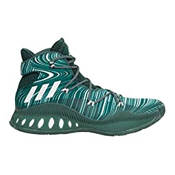 Adidas Crazy Explosive Mens Basketball Shoe 18 Green-White-Mineral Green