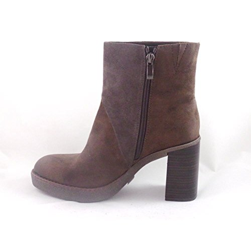 Marco Tozzi marrón Multi Faux Suede Ankle Boot