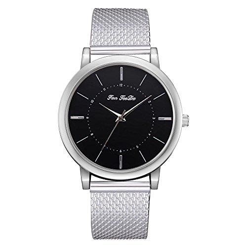 (Honestyivan Women's Quartz Silicone Strap Analog Watches Buckle Casual Simple Slim Watch Wrist Watch Gift for Mom)