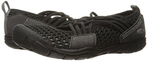 KEEN Women's CNX Zephyr Criss Cross Hiking Shoe, Black/Gargoyle, 10 M US by KEEN (Image #6)