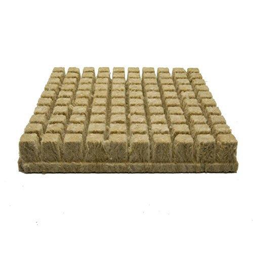 Grodan Rockwool Cubes (1 inch) 100 - Wool Stone