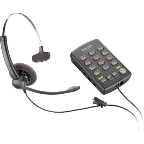 - Plantronics T110H Base has a Quick Disconnect (QD) Connector for use with Any Plantronics QD-Equipped Headset. Headset Sold Separately.