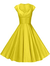 Amazon.com: Yellows - Dresses / Clothing: Clothing, Shoes & Jewelry