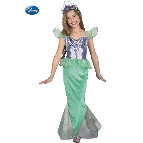 Disney Little Mermaid Ariel Child Halloween Costume Size 10-12 (Ariel Little Mermaid Costume For Adults)