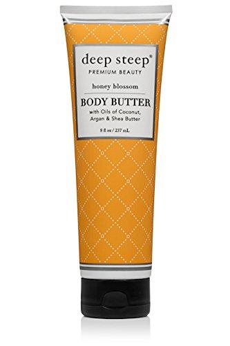 (Deep Steep Classic Body Butter, 8 fl oz, Honey Blossom)