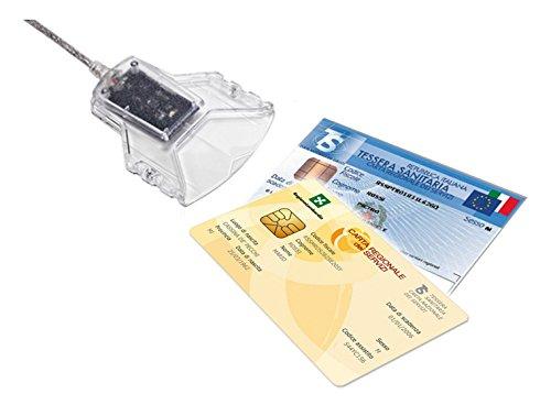 71 opinioni per Lettore e scrittore di smart card USB per CNS, CIE e CRS + firma digitale
