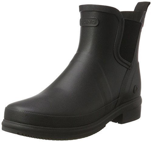 Viking Women's Gyda Wellington Boots, Yellow, 8 UK Black (Black 2)