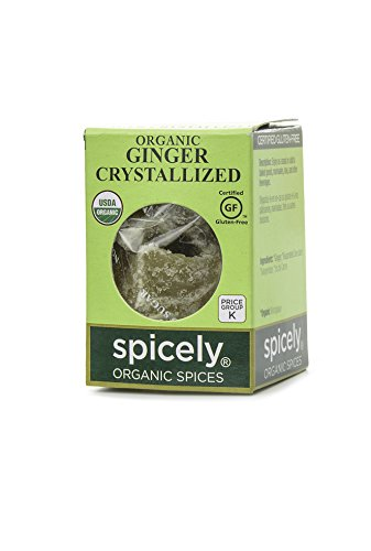 Photo of Spicely Organic Ginger Crystallized - Compact