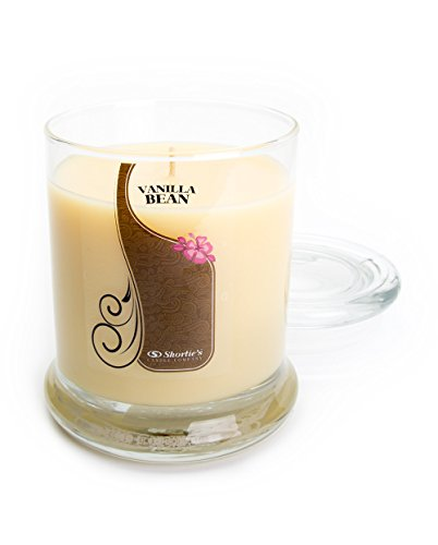 Vanilla Bean Candle - 10 Oz. Highly Scented Beige Jar Candle - Bakery Candles Collection