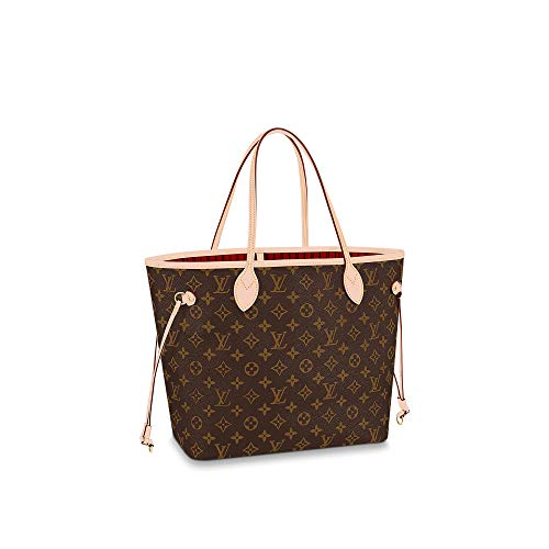 Louis Vuitton Neverfull MM Monogram Bags Handbags Purse (Cherry)
