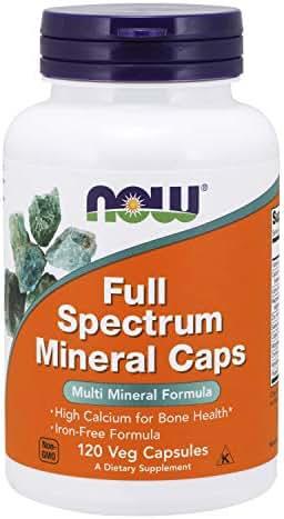 NOW Supplements, Full Spectrum Mineral, 120 Veg Capsules
