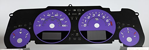US Speedo Daytona Edition Jeep Wrangler JK Gauge Face Purple for 2015-2018
