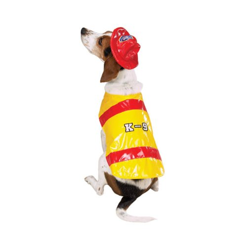 Fire Chief Dog Costume (Zack & Zoey Pawfield Fire Chief Costume Sm)