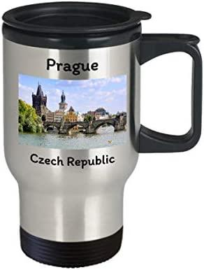 Taza de viaje de Praga Karolo Souvenirs de la República Checa ...
