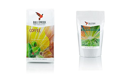 Bulletproof Coffee Ground and Whey Powder