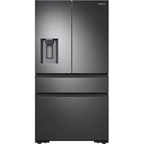 Samsung Counter Depth Refrigerator - Samsung RF23M8070SG 23 cu. ft. Capacity Black Stainless Counter Depth French Door Refrigerator RF23M8070SG/AA