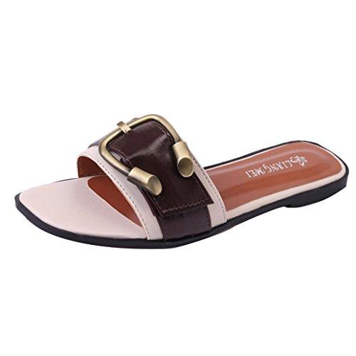 Sandalen Schuhe NEU Damen Pantoletten 1855 Gold 39