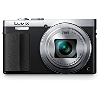 Panasonic LUMIX DMC-ZS50S 30X Travel Zoom with Eye Viewfinder (Silver) FREE Case Included (Certified Refurbished)