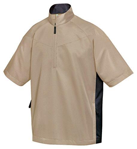 (Tri-Mountain All Season Half Zip Short Sleeve Windshirt - 2610 Icon)