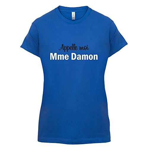 Apelle Moi Madame Damon - Femme T-Shirt - Bleu Royal - S