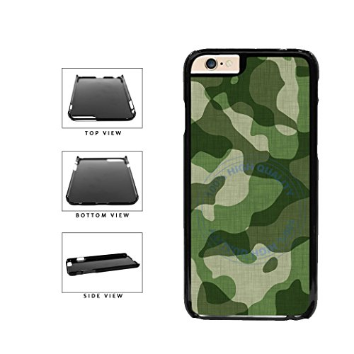 BleuReign Army Green Camoflauge Plastic Phone Case Back Cove