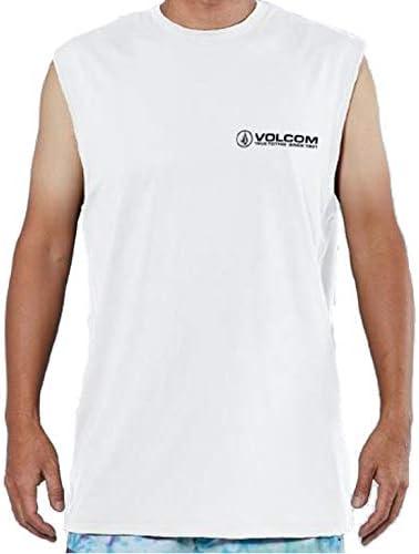 (ボルコム) 2019年春夏モデル メンズ タンクトップ SURF MUSCLE TANK TEE ラッシュガード 品番:N37219G1 WHITE(ホワイト) XLサイズ