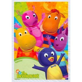 Backyardigans Party Treat Sacks 8/Pack-2Pack