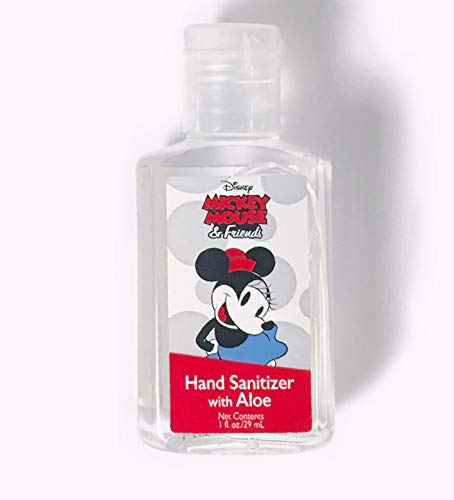Disney Hand Sanitizers with Classic Mickey and Minnie Mouse (Minnie Mouse Sanitizer, 5)