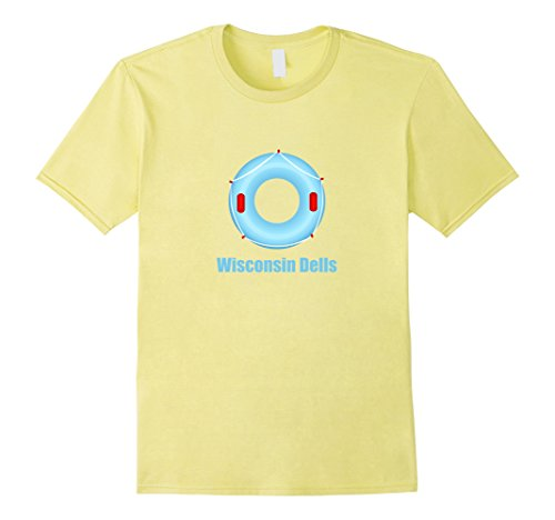 Mens Wisconsin Dells Water Tubing - Wisconsin T-Shirt Medium - Dells Wisconsin Shops