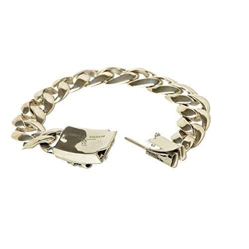 Bouddha to Light B2L Biker Bracelet fait main argent sterling Skull pe2718eie 469eur