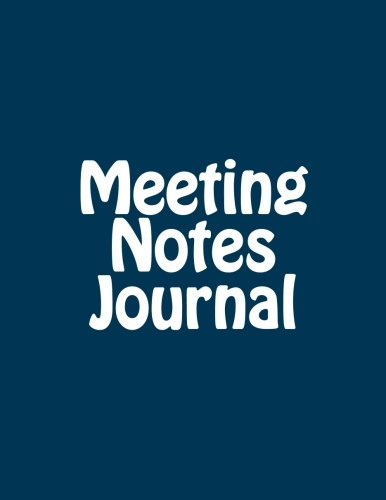 Download Meeting Notes Journal: A Meeting Record for the Year PDF